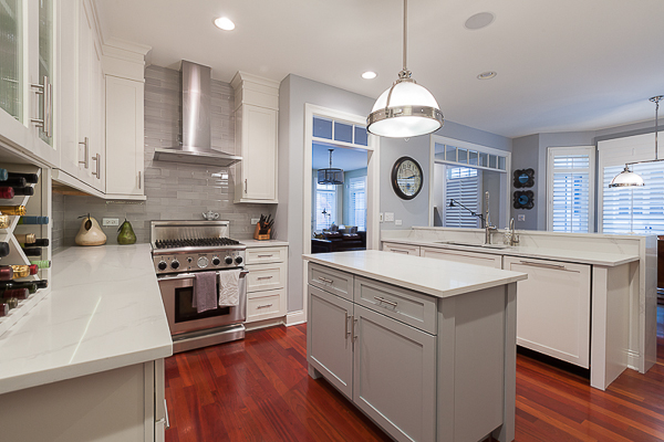 Kitchen Cabinet Refinish And Reface In Elmhurst, Illinois