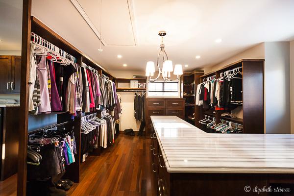 Master Closet And Laundry Room In Burr Ridge Illinois Wheatland Custom Cabinetry Woodwork