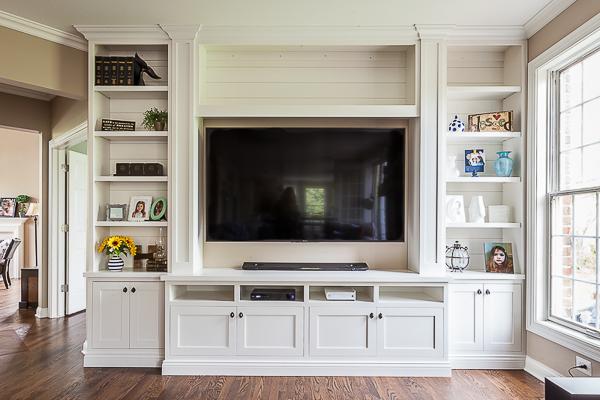 Shiplap Media Cabinet In Barrington Illinois Wheatland Custom Cabinetry Woodwork