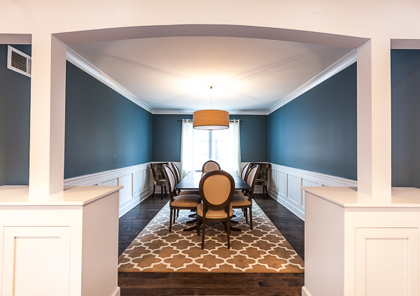 High Street Market Architectural Trim Wainscoting: Transitional Wainscoting In Western Springs, Illinois
