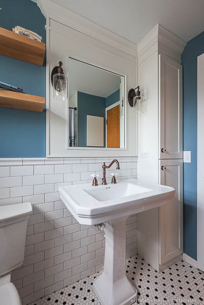 Vintage Bathroom and Cabinetry in Elmhurst, Illinois