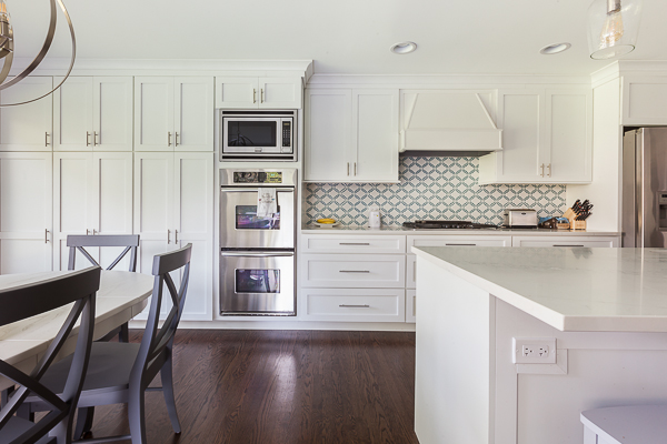 Contemporary White Kitchen Cabinets by Wheatland Cabinets ...