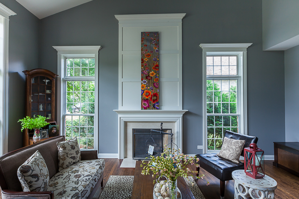 Traditional Fireplace Surround And Woodwork By Wheatland Cabinets
