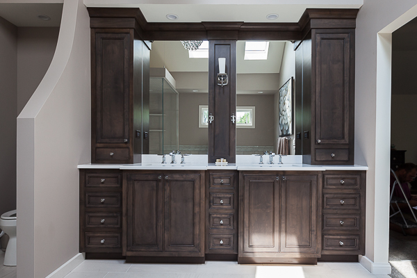 Master Bath Vanity Cabinetry In Elmhurst Illinois Wheatland Custom Cabinetry Woodwork