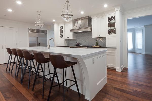 Walnut Kitchen Cabinets In Chicago Illinois Wheatland Custom Cabinetry Woodwork